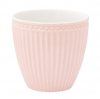 Greengate Latte Cup, Alice pale pink